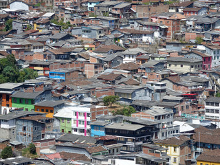 Shanty Towns of Manizales, Colombia