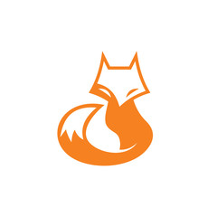 fox vector icon logo