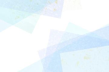 和紙の背景素材(ブルー系)
