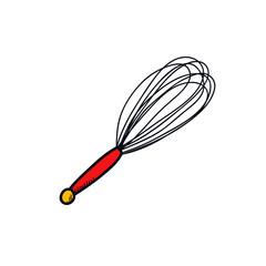 corolla kitchen tool doodle icon
