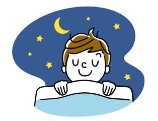 睡眠:女の子