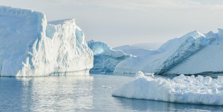 Antarctic Iceberg Scenery