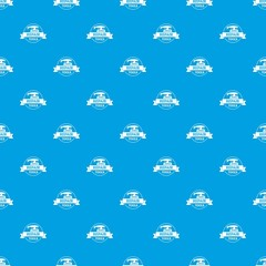 Repair tool pattern vector seamless blue repeat for any use