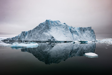 Icebergs In Disko Bay, Ilulissat, Greenland