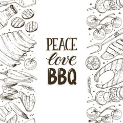 bbq and grill banner