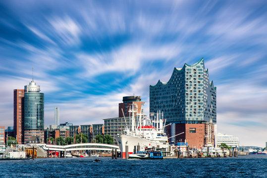 Hamburg Hafen und Oper