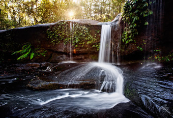 Fotobehang - Waterfall in Southern Highlands