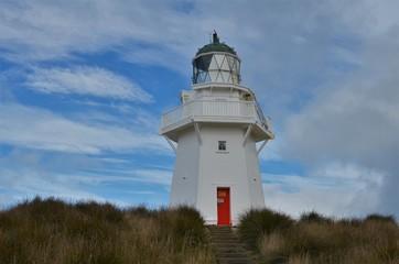 Waipapa Point lighthouse New Zealand