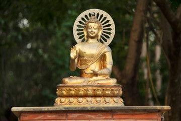 Large Bronze Brass Sakyamuni Gautama Buddha Statue in Buddha caves 6.