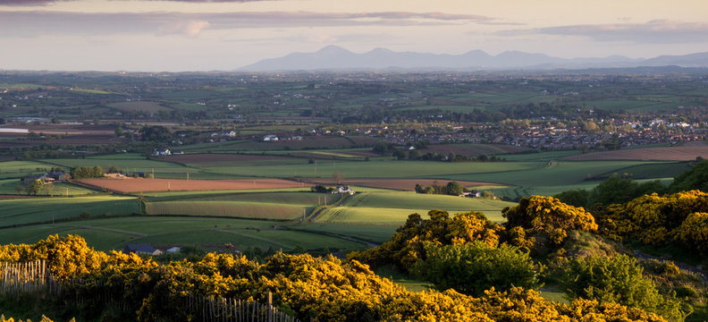 County Down Rolling Hills, Northern Ireland