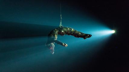 Obraz Artist in Cirque du Soleil - fototapety do salonu