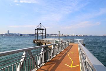 【横須賀 観光名所】無人島・猿島のフェリー乗り場