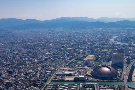 福岡上空からの景色#2