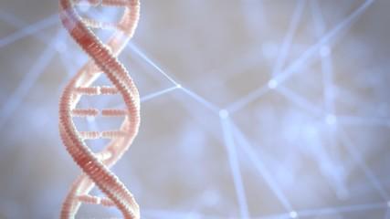 DNA genetic material Wall mural