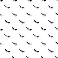 Australian magpie pattern seamless vector repeat geometric for any web design