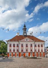 Town hall of Tartu, Estonia