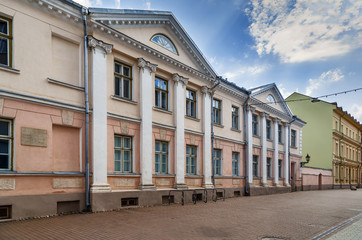 Street in Tartu, Estonia