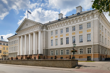Fototapete - University of Tartu main building, Estonia