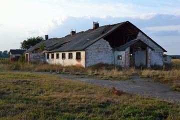 Old destroyed buildings