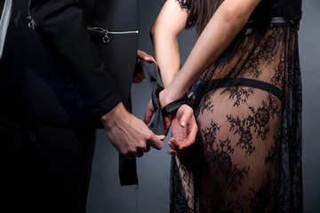 role play tie hands tight