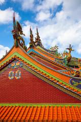 Old temple in Jiufen, Taiwan