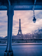 Eiffel Tower & Bir-Hakeim Bridge