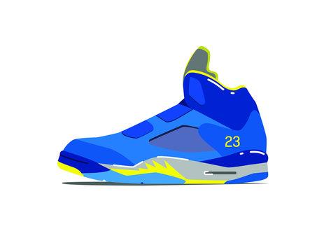 NBA Basketball Shoe