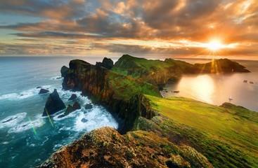 Landscape of Madeira island - Ponta de sao Lourenco Fototapete