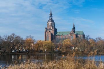 St.-Marien-Kirche in Stralsund; Deutschland
