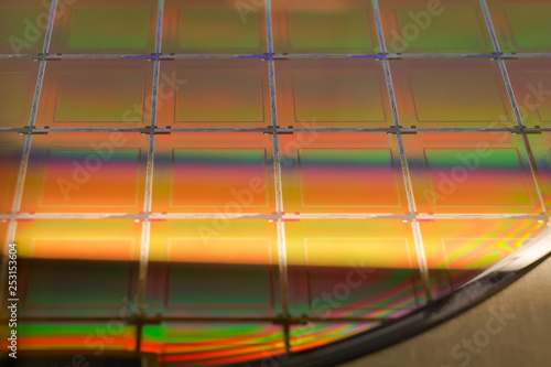 Silicon Wafer and Microcircuits - A wafer is a thin slice of