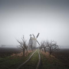 Paltrockwindmühle Saalow