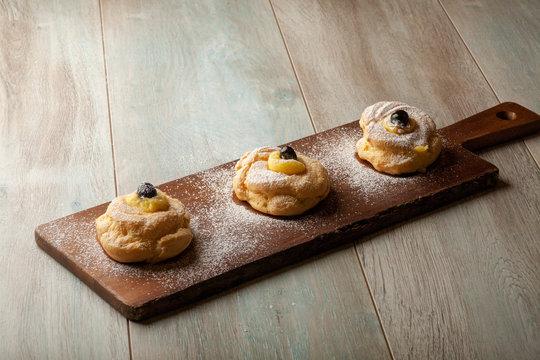 zeppole italian fried cakes