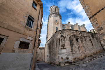 Girona Cathedral View