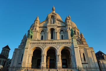 Sacre Coeur Basilica at sunrise