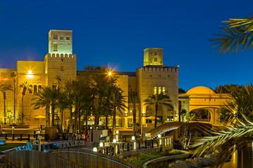 Madinat Jumeirah, Night life Dubai Light Illumination