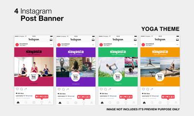 Yoga Instagram Post