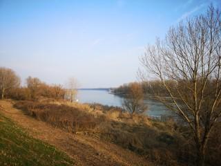 Cesole Mantova Italia fiume Po