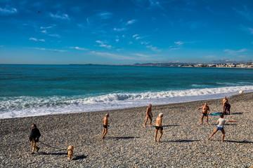 Winterurlaub in Nizza, Frankreich