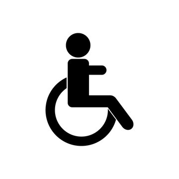 Disabled vector icon. Gender icon