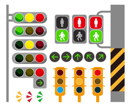信号 サイン 横断歩道 信号機