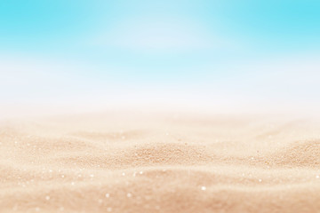 Sea sand background colours living coral. Beach holiday summertime.