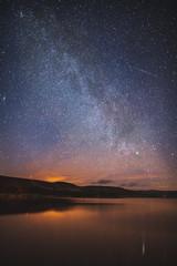 Milky Way Up Backwater Reservoir, Kirriemuir