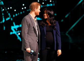 Britain's Prince Harry attends the WE Day UK event at the SSE Arena in Wembley