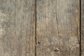 The texture of the old dirty wood plank board.