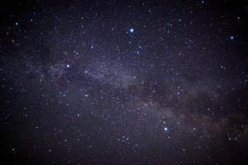 天の川と満天の星空