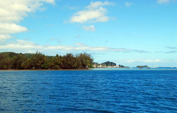 Marina in Raiatea, French Polynesia