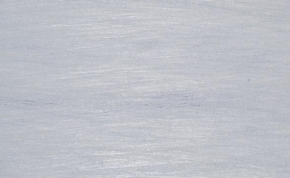 Skate Marks on Ice