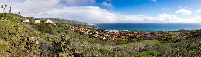 Stunning Southern California Coast Panorama