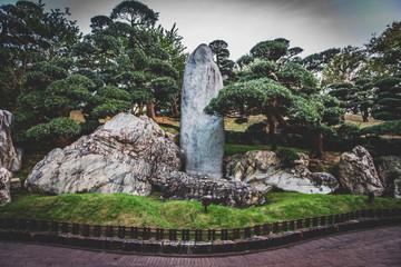 Fototapete - Honk Kong, November 2018 - Nan Lian Garden park