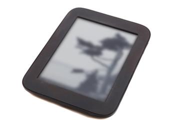 black ebook reader